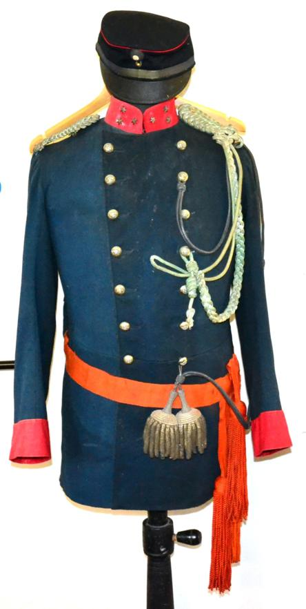 Lot 3 - An Early 20th Century No.1 Dress Uniform to an Officer of the Netherlands Korps Mariniers,...