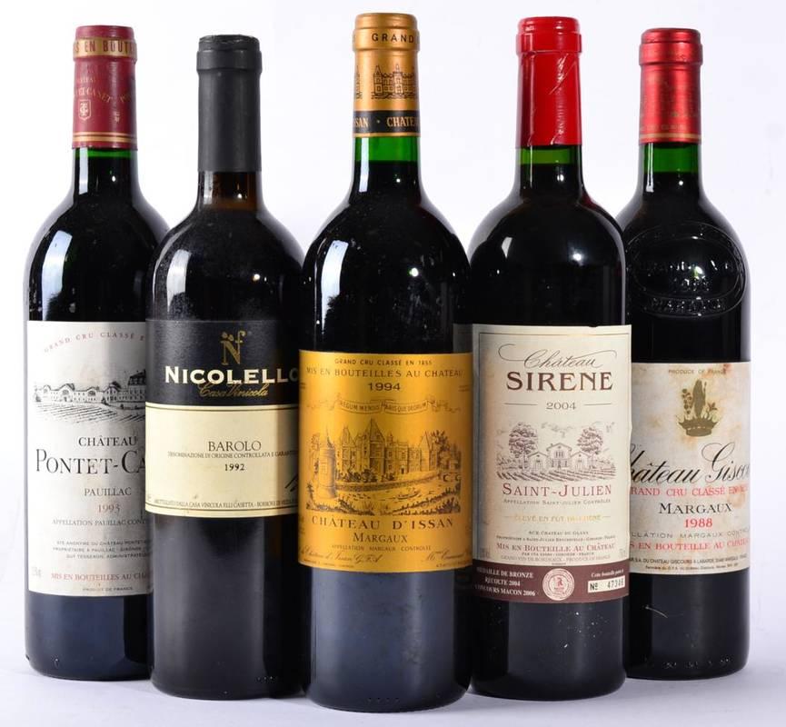 Lot 2010 - Chateau Sirene 2004 Saint-Julien, 1 bottle, Chateau Giscours 1988 Margaux, 1 bottle, Chateau...