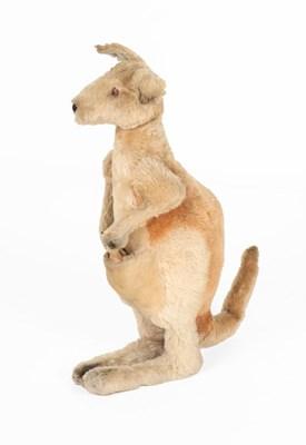 Lot 2001 - A Circa 1930s Large Steiff Mohair Kangaroo and...