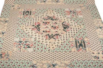 Lot 2026 - Late 19th Century Decorative Floral Cotton...