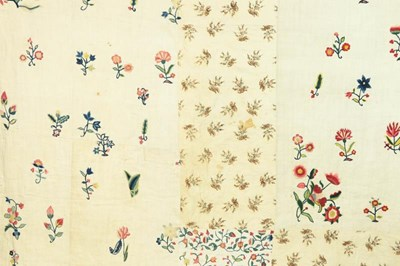 Lot 2029 - An Exceptional Early 19th Century Patchwork...