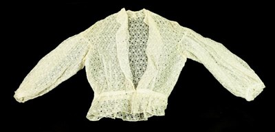 Lot 2053 - Assorted Early 20th Century Lace and Costume...