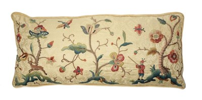 Lot 2057 - Rectangular Cushion with Early 19th Century...