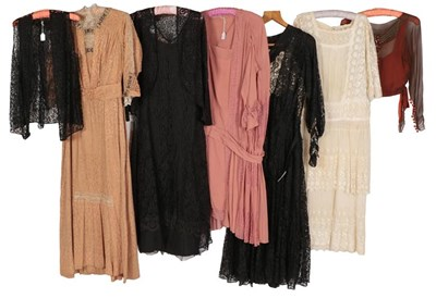 Lot 2068 - Early 20th Century Ladies' Costume, comprising...
