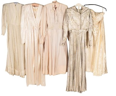 Lot 2070 - Early 20th Century Wedding and Other Dresses,...