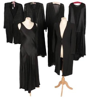 Lot 2076 - Circa 1920-30s Ladies' Clothing, comprising...