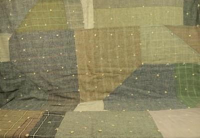 Lot 2007 - A Late 19th Century Weaver's Primitive Winter...