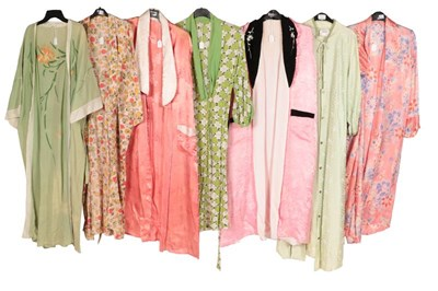Lot 2079 - Circa 1930-50s Dressing Gowns, Robes and House...