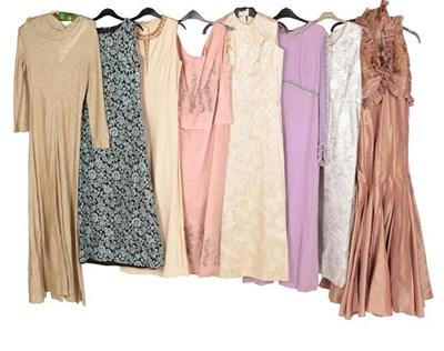 Lot 2088 - Circa 1960-70s Evening Wear, comprising Cresta...