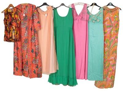 Lot 2091 - Circa 1960-70s Evening Wear, comprising a Kate...