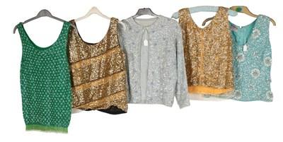 Lot 2093 - Circa 1950-60s Ladies' Evening Wear,...