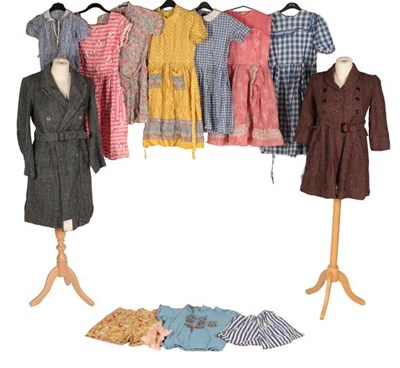 Lot 2095 - Assorted Circa 1950s and Later Girls' Dresses,...