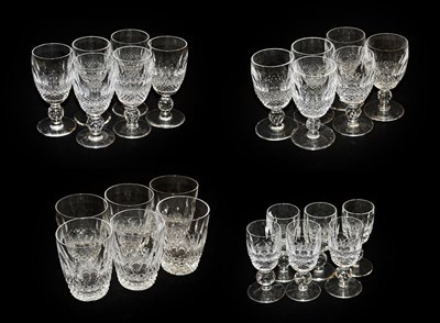 Lot 15 - Twenty four Waterford crystal 'Colleen'...
