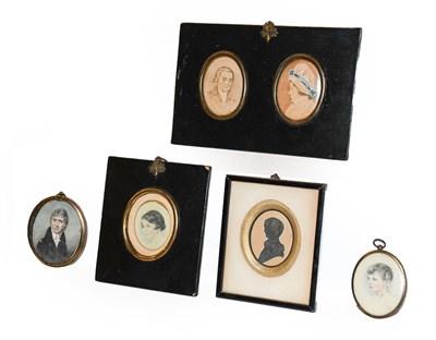 Lot 2 - A Regency portrait miniature of a gentleman in...