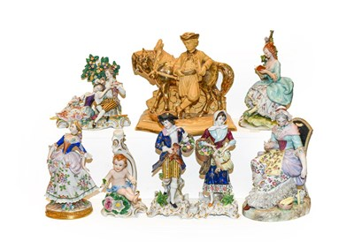 Lot 46 - A collection of mainly 19th century...