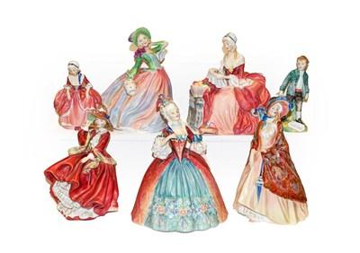 Lot 47 - Royal Doulton ladies including 'Georgina',...