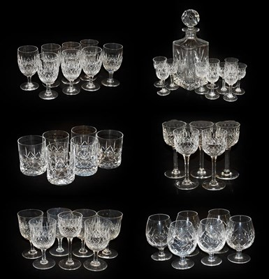 Lot 51 - A suite of Thomas Webb cut glass comprising a...