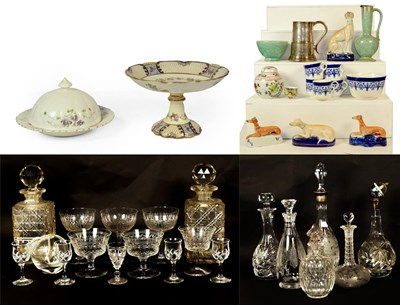 Lot 78 - Three trays of ceramics and glass including...