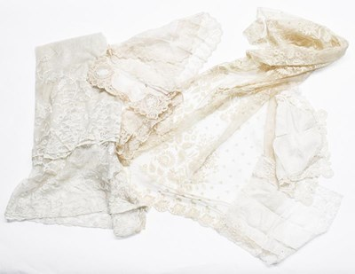 Lot 1017 - Five late 19th/early 20th century cotton...