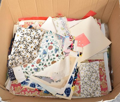 Lot 1023 - A large quantity of mainly modern fabric...