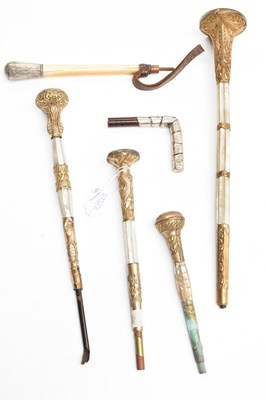 Lot 1059 - Four late 19th/early 20th century decorative...
