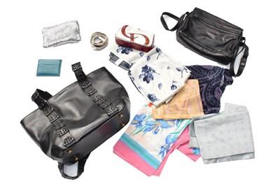 Lot 1082 - Two Enny leather handbags, Hidesign black...