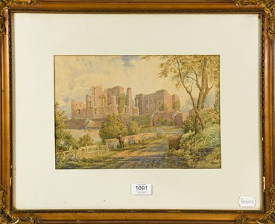 Lot 1091 - J Hardwicke (19th century) Kenilworth Castle,...
