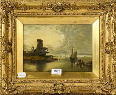 Lot 1092 - European school (19th/20th century) Windmill...