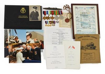 Lot 1 - HMS Cornwall Interest:- A Second World War...