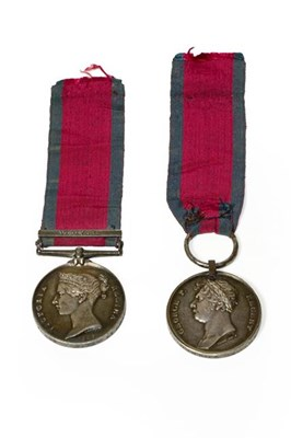 Lot 10 - A Military General Service Medal and Waterloo...
