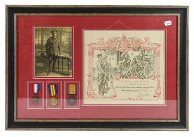 Lot 11 - A First World War Trio, awarded to 1239 (later...