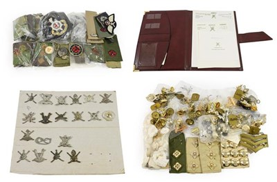 Lot 16 - A Collection of Omani and British Militaria,...