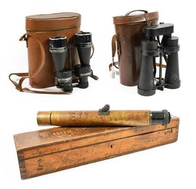 Lot 19 - A Pair of Second World War CF41 x8 Binoculars...