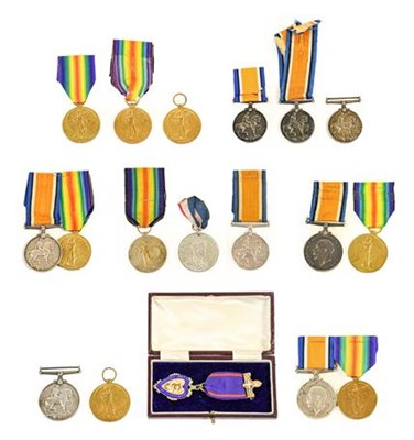 Lot 2 - A First World War Pair, awarded to 2934...