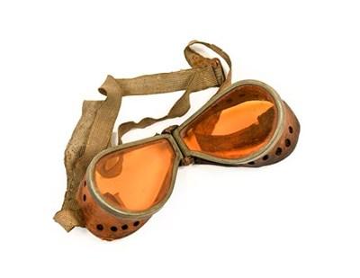 Lot 20 - A Pair of First World War Pilot's Goggles,...