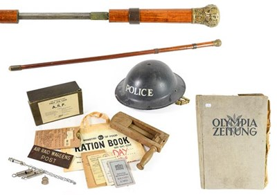 Lot 23 - A Collection of Second World War Civil Defence...