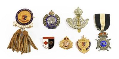 Lot 41 - A George VI Royal Navy 9 Carat Gold Sweetheart...
