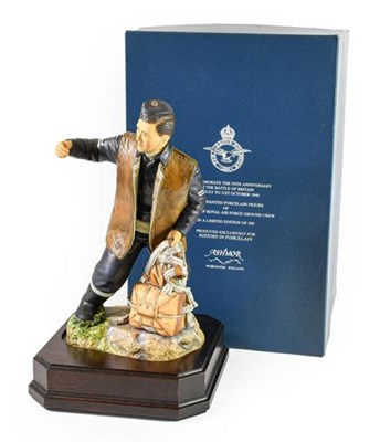 Lot 44 - An Ashmore Worcester Porcelain Figure,...