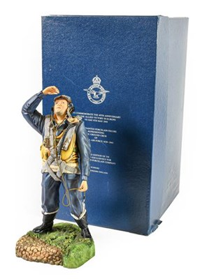 Lot 46 - An Ashmore Worcester Porcelain Figure- ''The...