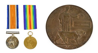 Lot 5 - A First World War Casualty Group, awarded to...