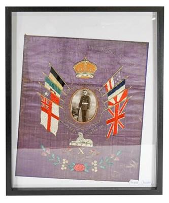 Lot 51 - An Interwars British Soldier's Needlework...