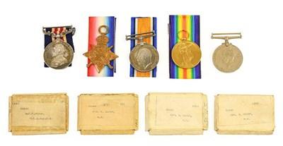 Lot 6 - A First World War M.M. Group of Four Medals,...