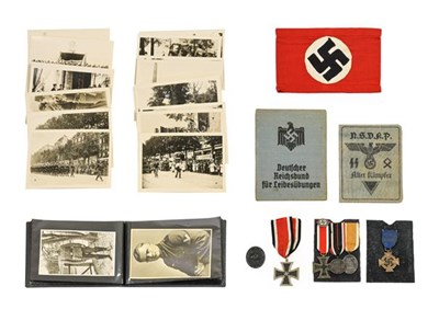 Lot 75 - A Quantity of German Third Reich Medals,...