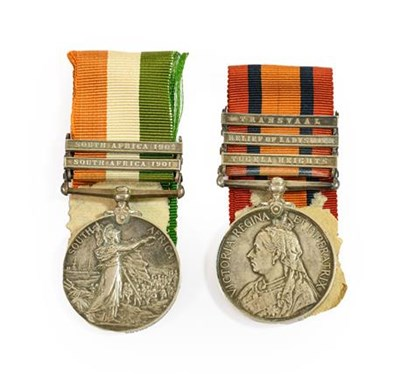 Lot 8 - A Boer War Pair, awarded to 546 CORPL.J.ROADS,...