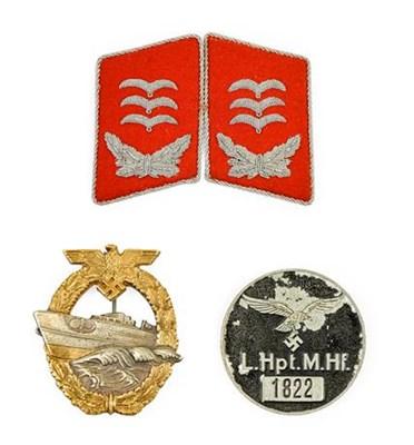 Lot 82 - A Pair of German Third Reich Luftwaffe Flak...