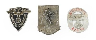 Lot 92 - A German Third Reich NSKK Arm Badge, in...