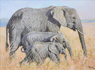 Lot 1011 - Tony Forrest (b.1961) ''Family Outing'' Signed...