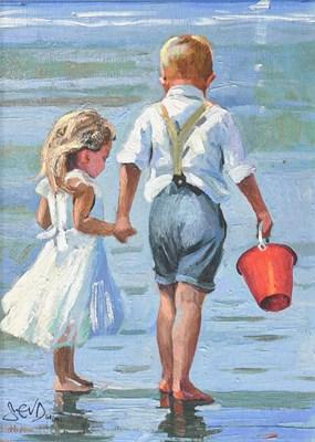 Lot 1015 - Sherree Valentine Daines (b.1956) ''Hold On...