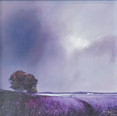 Lot 1017 - Barry Hilton (Contemporary) ' ''Lavender Skies'...