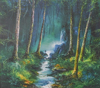 Lot 1021 - Philip Gray (Contemporary) ''Forest of Light''...